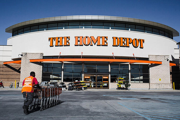 Home Depot Website Offers Building Supplies And Private Consumer Data